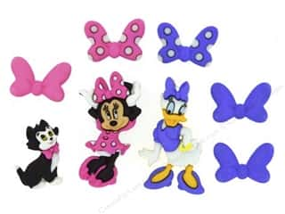 Jesse James Dress It Up Embellishments Disney Minnie Bowtique Buttons