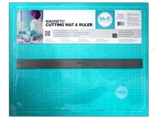 "Holiday Gift Ideas Sale Quilting: We R Memory Magnetic Cutting Mat & Ruler 18"" Teal"