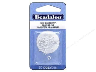 beading & jewelry making supplies: Beadalon Wire Guardian .022 in. Silver Plated 20 pc.