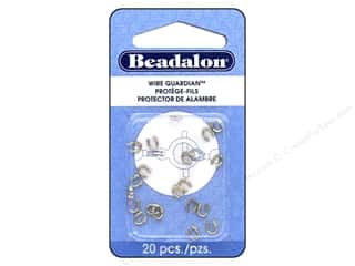 beading & jewelry making supplies: Beadalon Wire Guardian .022 in. Gold Plated 20 pc.