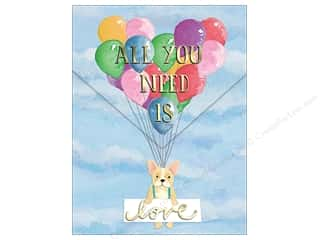 Molly & Rex Pocket Note Pad Words In Bloom Balloon Puppy