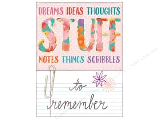art, school & office: Molly & Rex Pocket Note Pad Words In Bloom Stuff To Remember