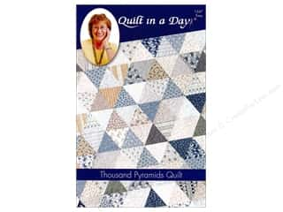 Quilt In A Day Thousand Pyramids Pattern
