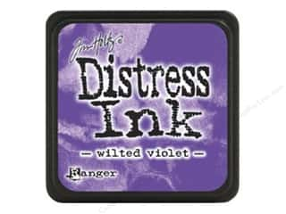 stamps: Tim Holtz Distress Mini Ink Pad by Ranger Wilted Violet