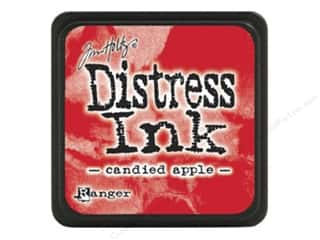 stamps: Ranger Tim Holtz Distress Mini Ink Pad Candied Apple