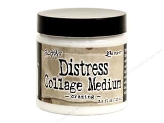 Tim Holtz Distress Collage Medium by Ranger 3.8 oz Crazing