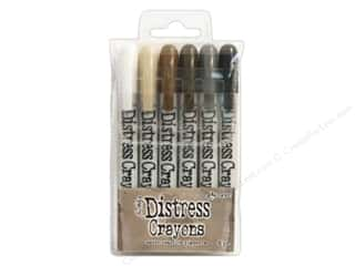 Tim Holtz Distress Crayons by Ranger Set 3