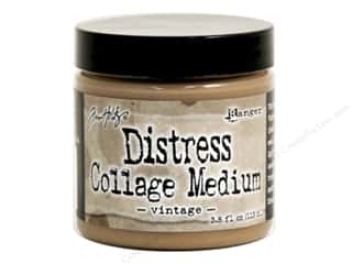Tim Holtz Metallic Mixative: Ranger Tim Holtz Distress Collage Medium 3.8 oz. Vintage