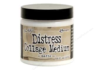 Tim Holtz Metallic Mixative: Ranger Tim Holtz Distress Collage Medium 3.8 oz. Matte