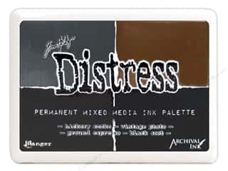 ink pads: Ranger Tim Holtz Distress Mixed Media Archival Ink Palette