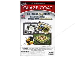 craft & hobbies: Famowood Craft Glaze Coat Kit Quart