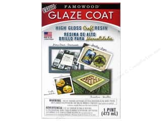 craft & hobbies: Famowood Craft Glaze Coat Kit Pint