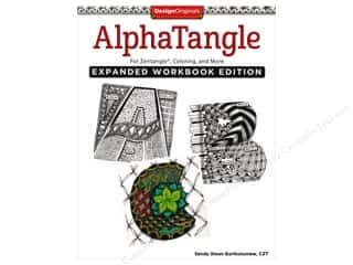 books & patterns: Design Originals AlphaTangle Expanded Book