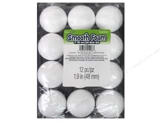 craft & hobbies: FloraCraft Smooth Foam Ball 2 in. 12 pc.