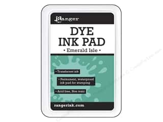 stamps: Ranger Dye Ink Pad Emerald Isle
