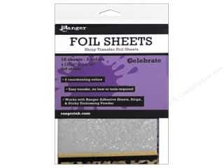 Ranger Essentials Foil Sheets Assorted Shiny 10pc