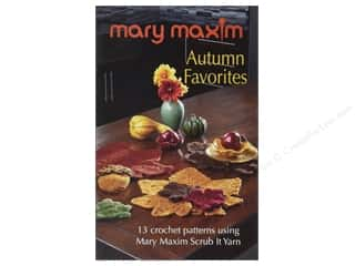 yarn: Mary Maxim Autumn Favorites Book