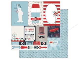 Echo Park 12 x 12 in. Paper Sweet Liberty Journaling Cards (15 sheets)