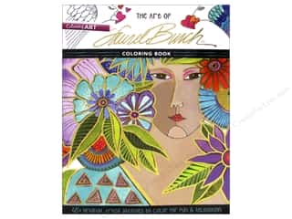 C&T Publishing Books The Art of Laurel Burch Coloring Book