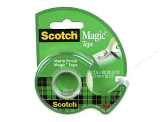 glues, adhesives & tapes: Scotch Tape Magic .5 in. x 800 in.
