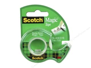 glues, adhesives & tapes: Scotch Tape Magic .5 in. x 450 in.