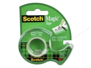 glues, adhesives & tapes: Scotch Tape Magic .75 in. x 300 in.