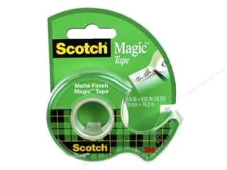 glues, adhesives & tapes: Scotch Tape Magic .75 in. x 650 in.