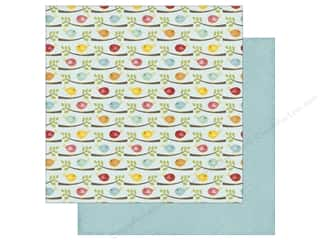 Feathers: Echo Park 12 x 12 in. Paper Happy Summer Collection Flocking Feathers (25 sheets)