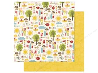 Echo Park 12 x 12 in. Paper Happy Summer Collection Sunny Day (25 sheets)