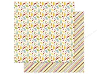Clearance: Echo Park 12 x 12 in. Paper Happy Summer Collection Sweet Treats (25 sheets)