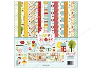 Clearance Echo Park Collection Kit: Echo Park 12 x 12 in. Collection Kit Happy Summer