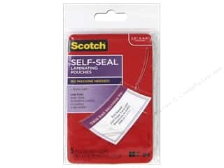 Scotch: Scotch Laminating Self Sealing Bag Tags 2 3/4 x 4 1/2 in. 5pc