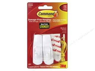 Command Adhesive: Command Adhesive Hook Medium 2pc