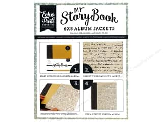 Carta Bella 6 x 8 in. Album Jacket Old World Travel Script