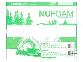 Fairfield Nu Foam 18 in. x 5 yd. x 2 in. Roll with Dispenser (5 yards)