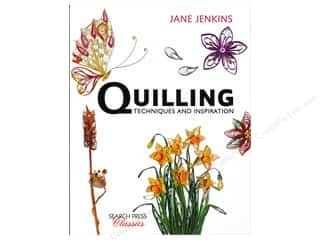 paper craft books: Search Press Quilling Techniques & Inspiration Book
