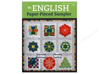 An English Paper Pieced Sampler Book by Darlene Beltman and Teresa Justice