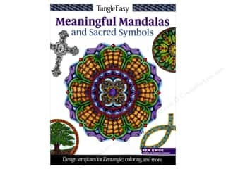 Design Originals TangleEasy Meaningful Mandalas and Sacred Symbols Book
