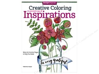 books & patterns: Design Originals Creative Coloring A Second Cup of Inspirations Book