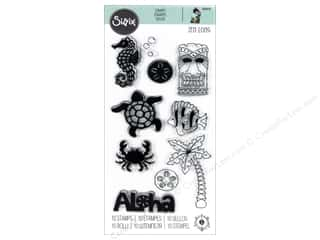 dies: Sizzix Stamp Jen Long Clear Aloha