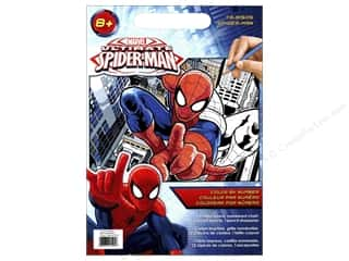 """Dimensions Color By Number 9""""x 12"""" Spiderman"""
