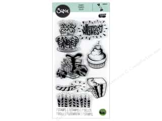dies: Sizzix Stamp Lindsey Serata Clear Birthday Wishes