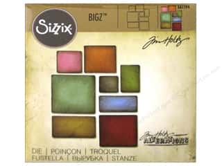 die cutting machine: Sizzix Bigz Dies Mosaic by Tim Holtz