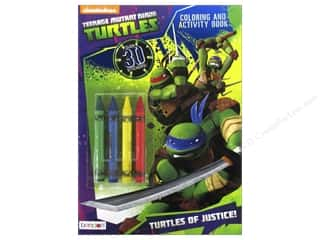 Bendon Coloring & Activity Book with Crayons Teenage Mutant Ninja Turtles