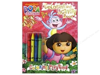 Bendon Publishing: Bendon Coloring & Activity Book with Crayons Dora The Explorer