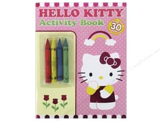 Bendon Coloring & Activity Book with Crayons Hello Kitty