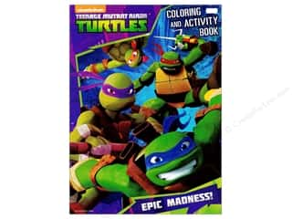 Bendon Coloring & Activity Book Teenage Mutant Ninja Turtles