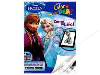 books & patterns: Bendon Color & Play Book Disney Frozen