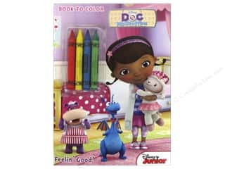 Bendon Publishing: Bendon Coloring & Activity Book with Crayons Disney Doc McStuffins