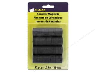 ProMag 3/4 in. Extra Strong Ceramic Magnets 52 pc.